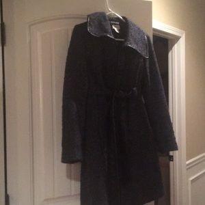 New Motherhood Maternity wool trench coat
